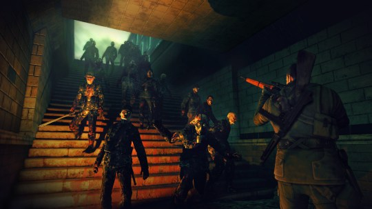 Sniper Elite: Nazi Zombie Army (PC) – wouldn't a machinegun be more useful?