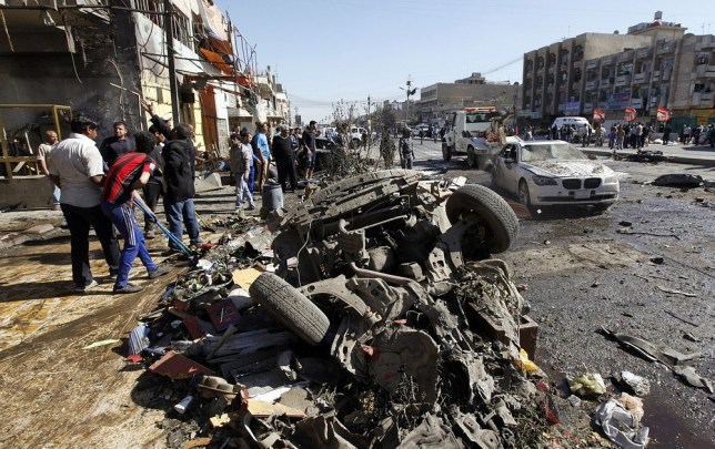 Baghdad car bomb attacks
