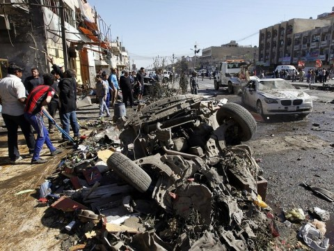 Baghdad bomb blasts kill 56 and injury 200 on 10th anniversary of Iraq invasion