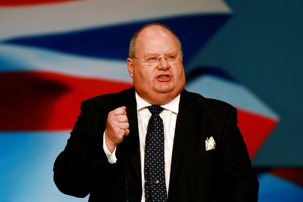 Communities sectary Eric Pickles