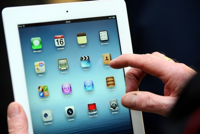 iPads could effect a good night's sleep (Picture: PA)