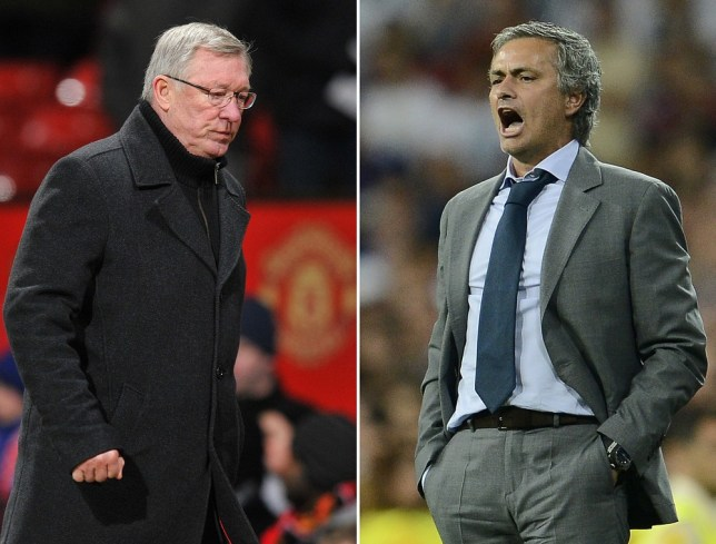Sir Alex Ferguson's side have a slight upper-hand over Jose Mourinho's men (Picture: Getty)