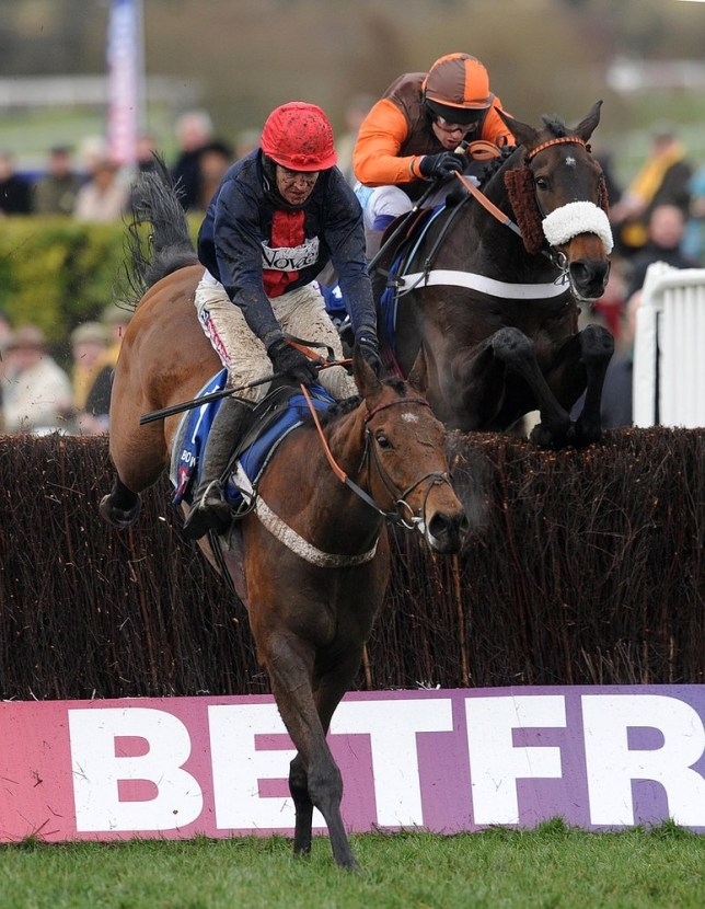 Bobs Worth, with Barry Geraghty on board, on his way to Gold Cup glory last year (Picture: Picture: PA)