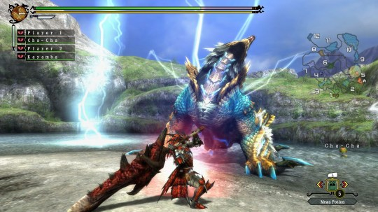 Monster Hunter 3 Ultimate (Wii U) - never fight alone