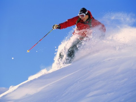 Getting piste: Skiers are taking high risks