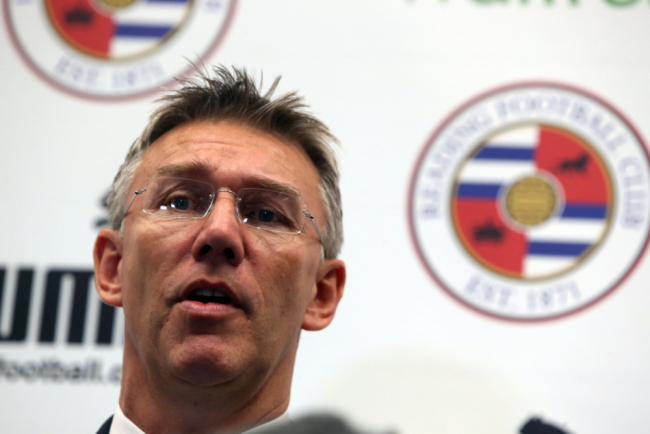 Nigel Adkins arrives for his Reading revival (Picture: PA)