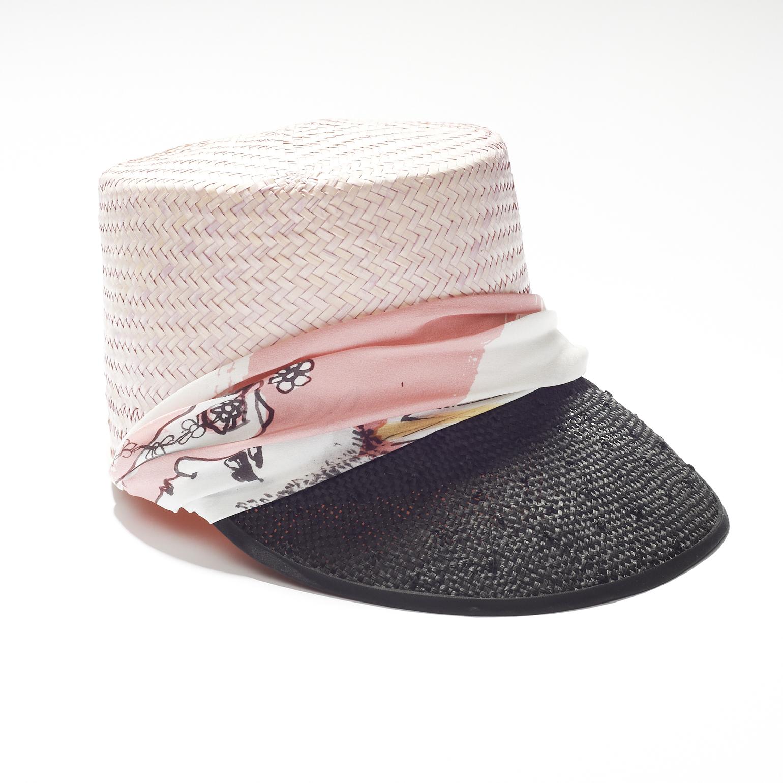 Daisy punk visor, £110, Age Of Reason. www.age-of-reason-studios.com