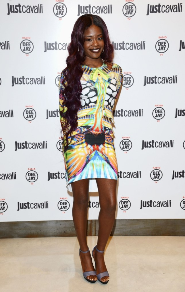 Azealia Banks attends the new Just Cavalli boutique opening party as part of Milan Womenswear Fashion Week on September 21, 2012 in Milan, Italy.  (Photo by Venturelli/WireImage)