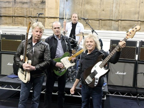 Status Quo reunited after 30 years as they rehearse for reunion tour