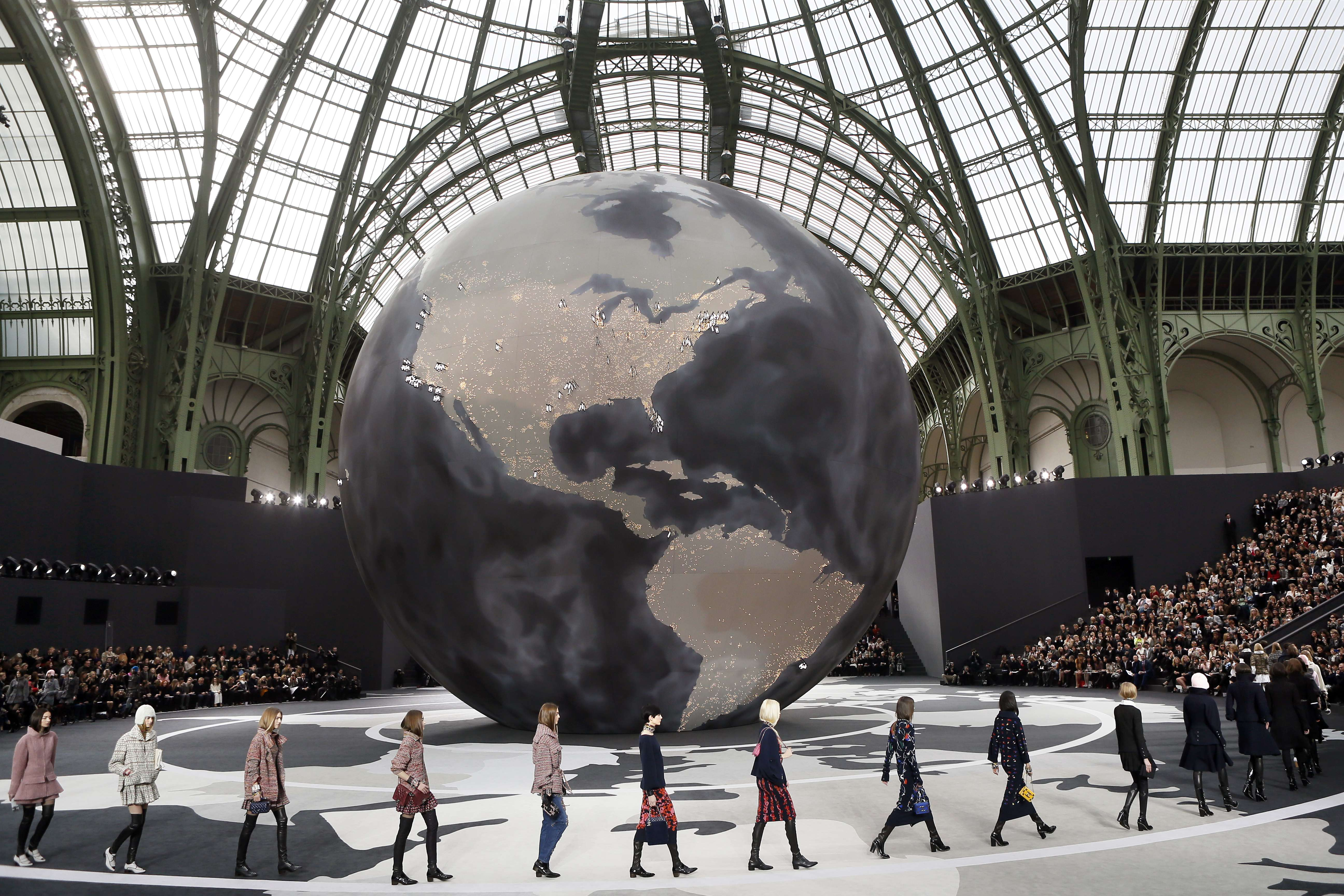 Chanel: The global brand at Paris Fashion Week