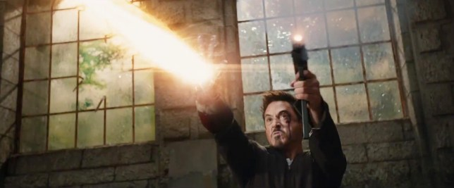 Tony Stark is out for revenge in Iron Man 3 (Picture: Marvel/Walt Disney Pictures)