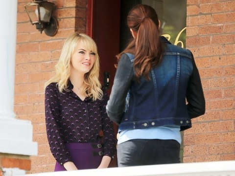 The Amazing Spider-Man 2 photos show Gwen Stacy and Mary-Jane Watson together