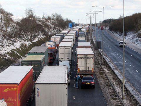 More snow on way as transport chaos hits M20 approach to Channel Tunnel