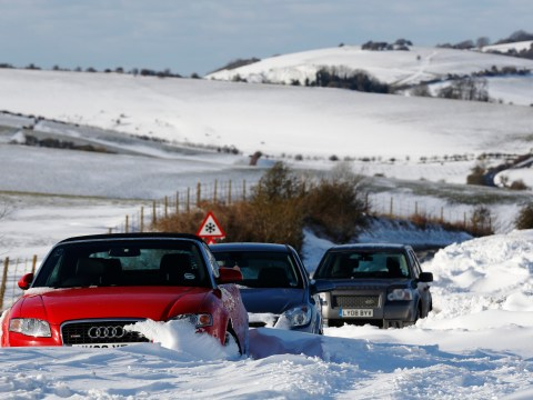 Gritter drivers blame motorists for road delays as snow hits UK