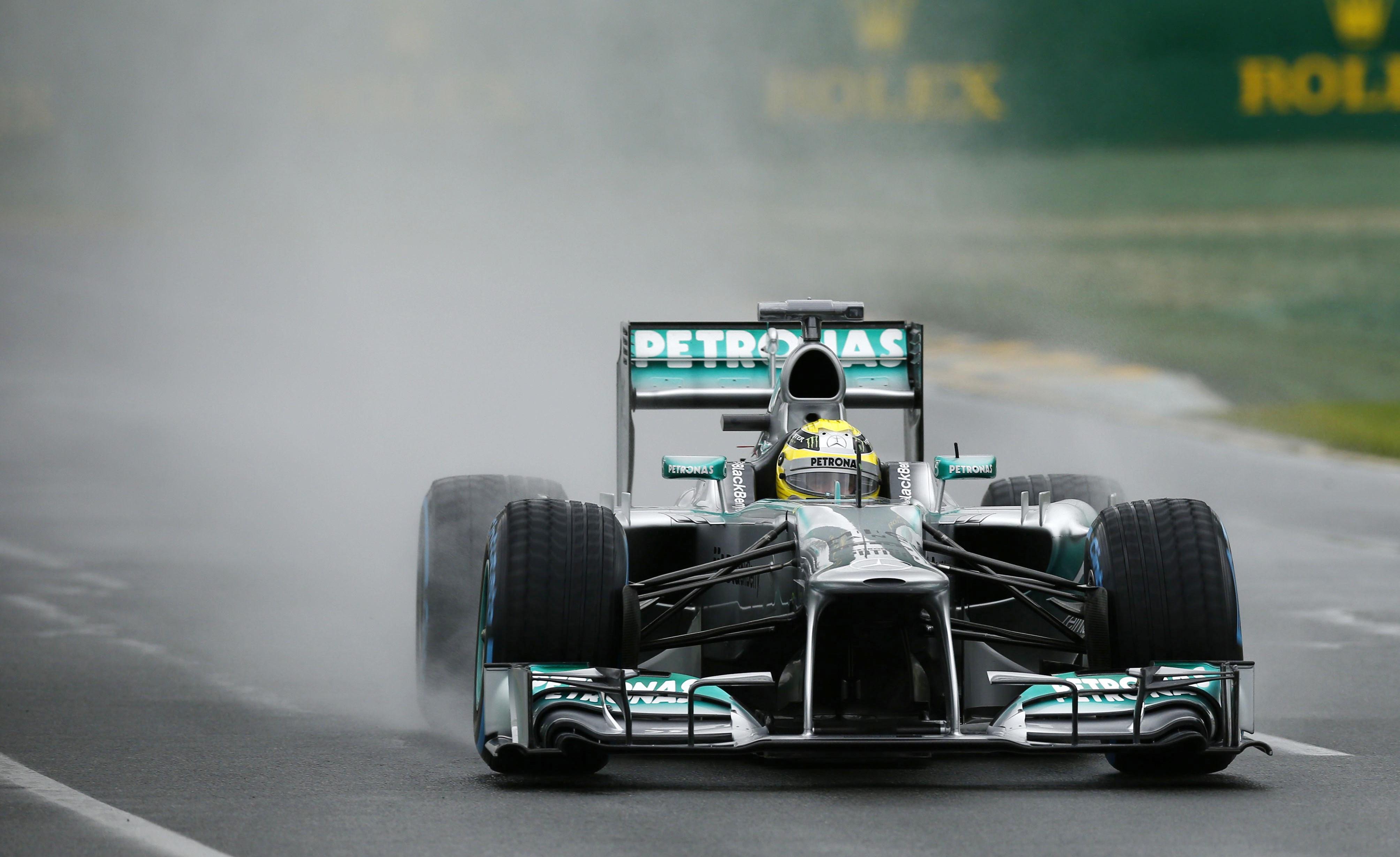 FIA say 'no complaints' as heavy rain halts Australian Grand Prix qualifying