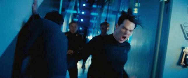 Benedict Cumberbatch stars as baddie John Harrison (Picture: Paramount Pictures)