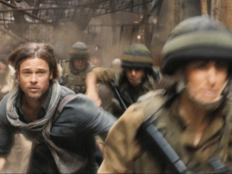 World War Z exclusive clip shows Brad Pitt trying to save family