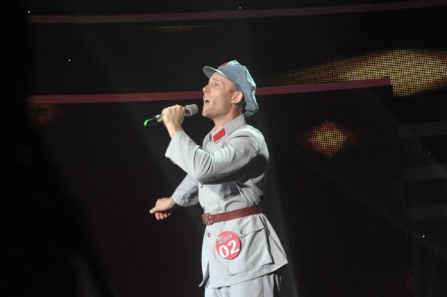 Iain Inglis, China's Got Talent