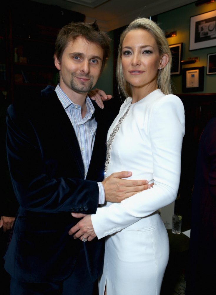 Kate Hudson denies secret wedding to Muse frontman Matt Bellamy