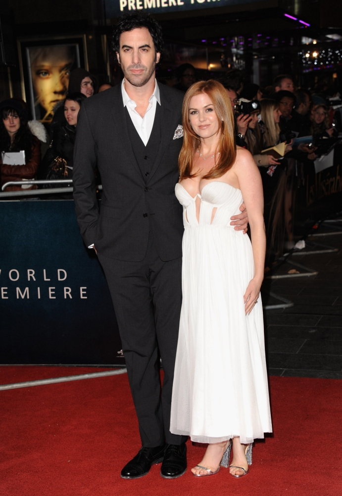 Sacha Baron Cohen's wife Isla Fisher admits marriage is 'not normal'