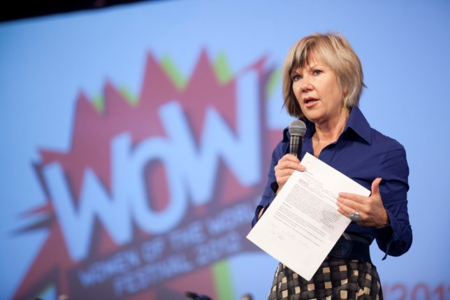 Jude Kelly speaks at the Women Of The World festival (Picture: Belinda Lawley)