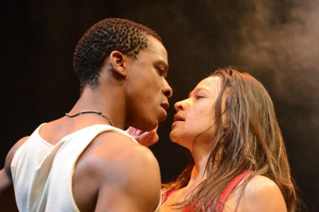 Mies Julie stars Bongile Mantsai and Hilda Cronje