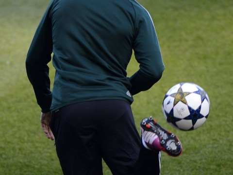 Cristiano Ronaldo warms up for United return with outrageous skills in training