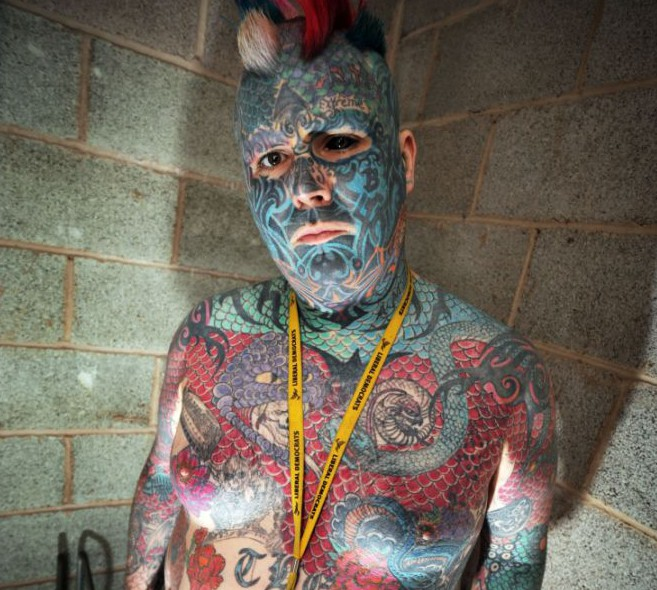 Britain's most tattooed man