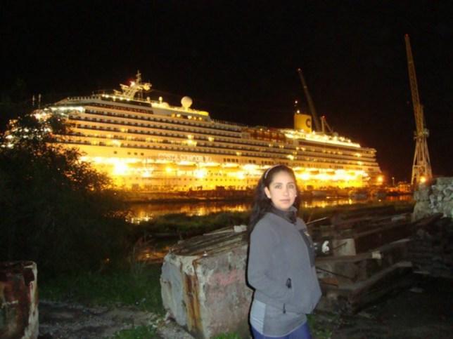 Costa Concordia victim Erika Fani Soria Molina