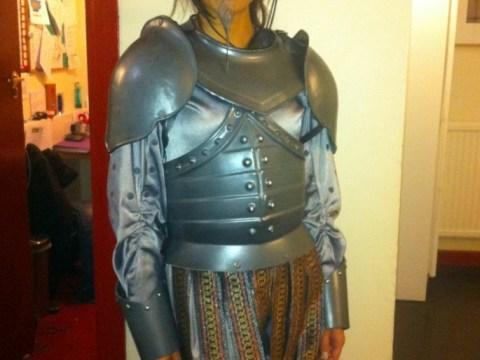 Heptathlete Louise Hazel hams it up in Spamalot as she makes West End debut