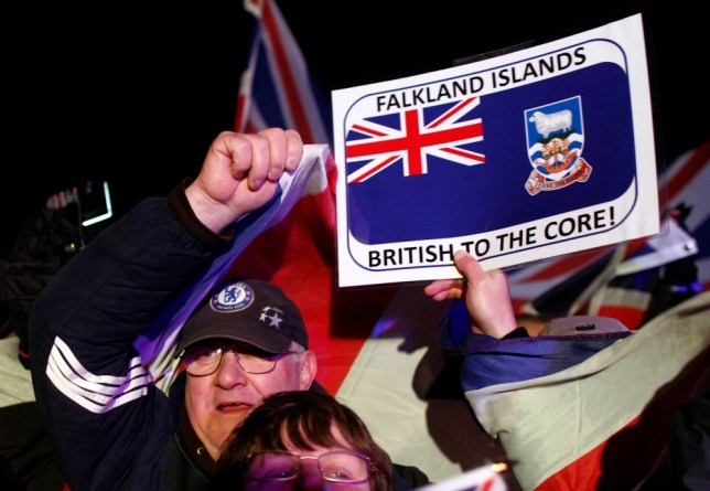 The people of the Falkland Islands have voted overwhelmingly to remain a British territory