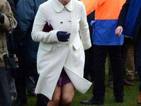 Zara Phillips 'argues with steward' at Cheltenham Festival