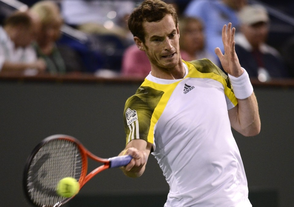 Andy Murray eager to meet Ivan Lendl's standards at Indian Wells