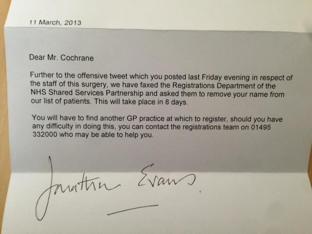 GP letter