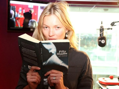 Kate Moss breaks her silence to read raunchy novel Fifty Shades Of Grey live on Radio 1