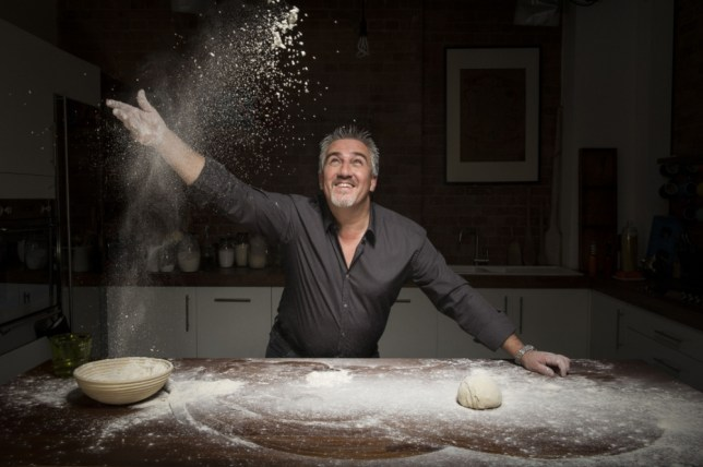 The silver fox baker takes us on a doughy journey in Paul Hollywood's Bread (Picture: Love Productions)