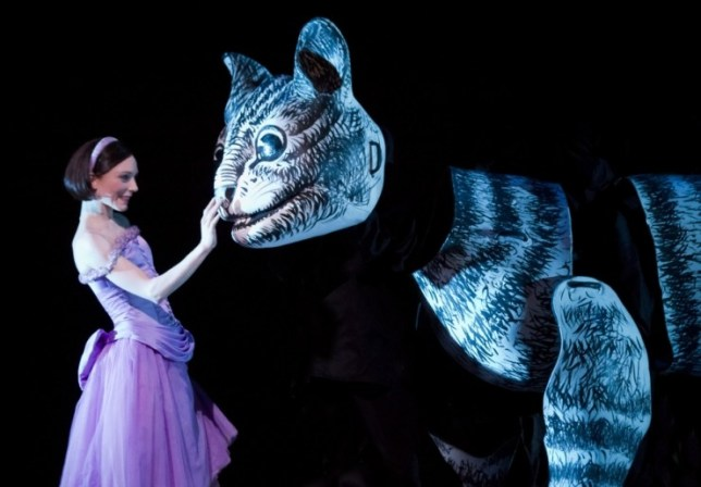 Sarah Lamb stars in the Royal Ballet's visual feast Alice's Adventures In Wonderland (Picture: Johan Persson)