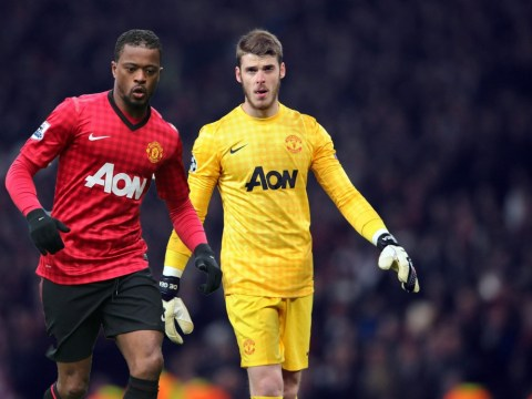 Patrice Evra and David de Gea clash over choice of dressing room music