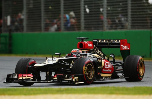 MELBOURNE, AUSTRALIA - MARCH 17:  Kimi Raikkonen of Finland and Lotus drives on his way to winning the Australian Formula One Grand Prix at the Albert Park Circuit on March 17, 2013 in Melbourne, Australia.  (Photo by Robert Cianflone/Getty Images)