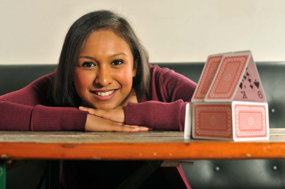 Sabrina Hoque says saving with an ISA is quick and easy (Picture: Daniel Lynch)