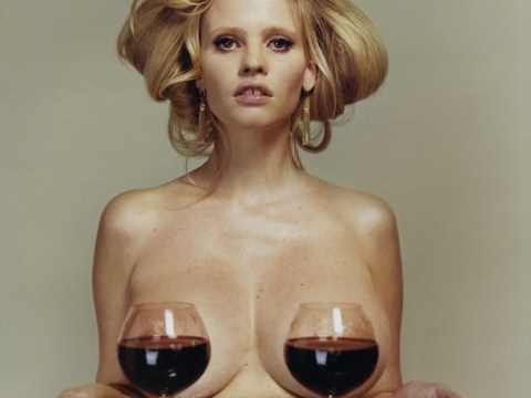 Topless Lara Stone gets saucy in racy new shoot