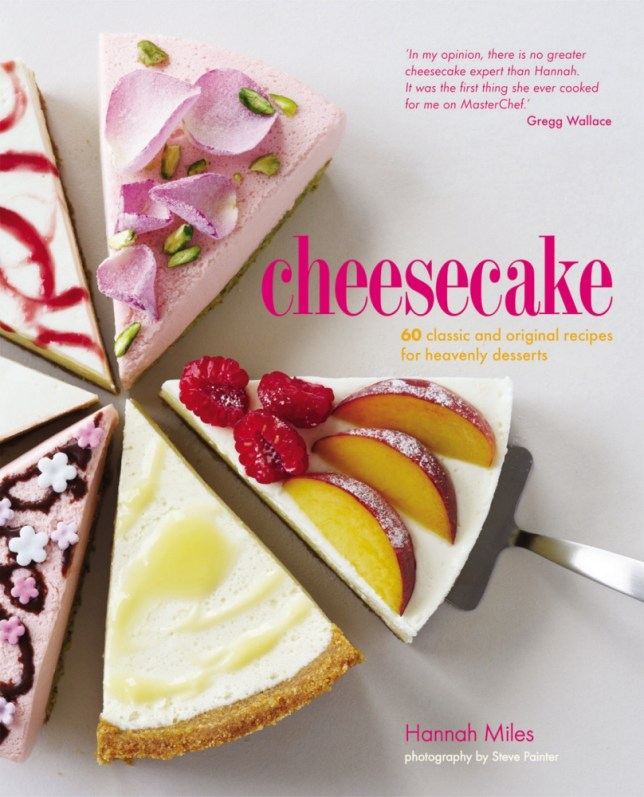 Hannah Miles's Cheesecake is the MasterChef finalist's 13th book (Picture: Ryland Peters and Small)