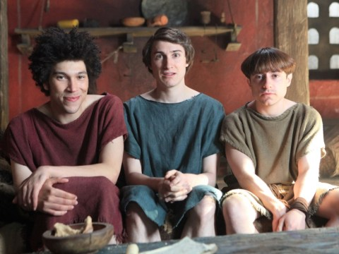 The final episode of Plebs lacked a 'Doon Mackichan downing a banana' moment