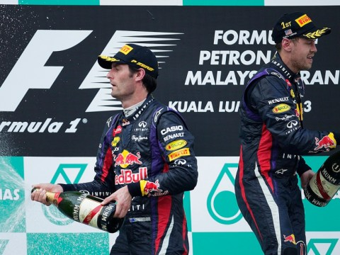 Red Bull animosity clouds Malaysian Grand Prix one-two