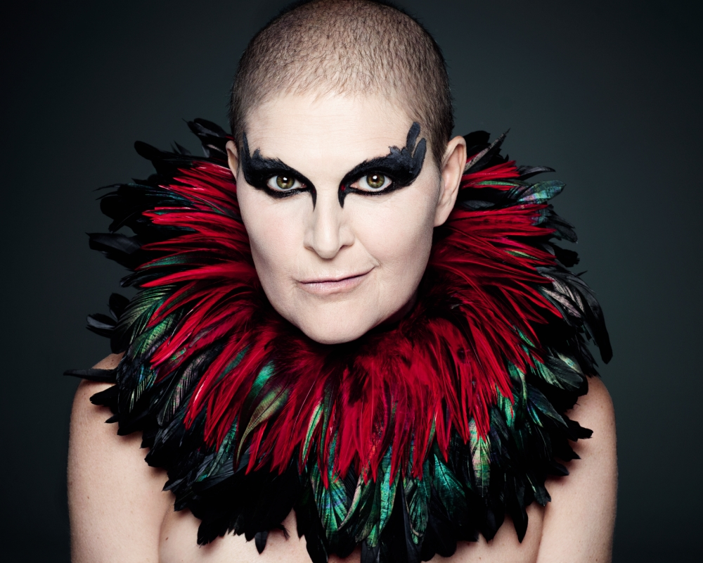 Mother-of-one Sandra Barber agreed to be part of Rankin's exhibition celebrating life (Picture: Rankin Photography Ltd)