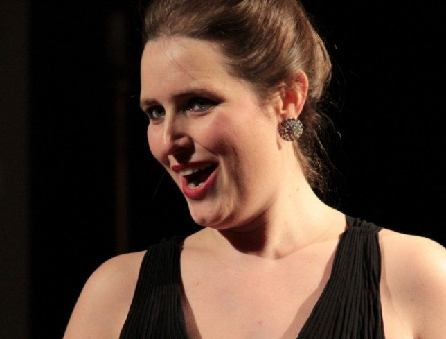 Soprano Georgina Rosanna Murray loves the challenge of adapting her voice for a small space (Picture: Federico Carnevali)