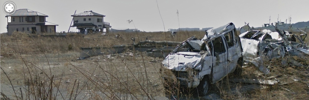 Gallery: Fukushima ghost town captured by Google Street View