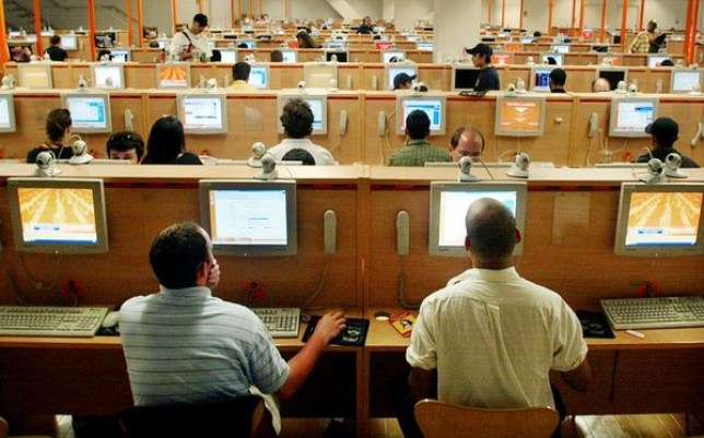 Chinese internet cafe addict