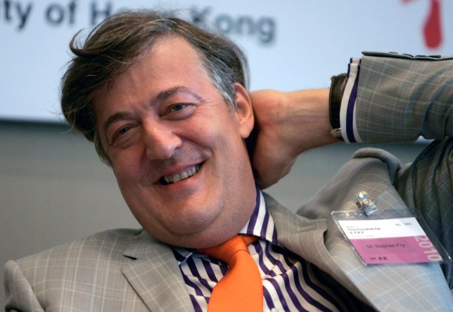 Stephen Fry reveals vodka and pills suicide attempt