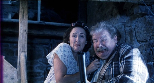 Richard Griffiths in Harry Potter